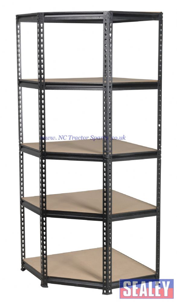 Corner Racking Unit 5 Level 150kg Capacity Per Level